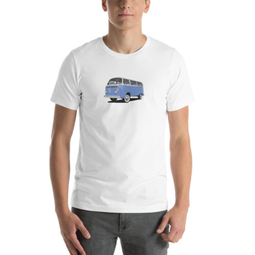 Volkswagen T2 Blue Design T-Shirt