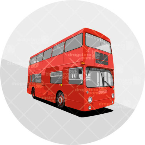 Daimler London Bus Red Design T-Shirt